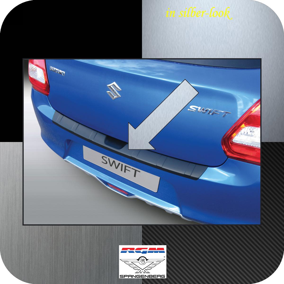 Ladekantenschutz Silber-Look gerippt Suzuki Swift V Schrägheck ab 2017- 3506671