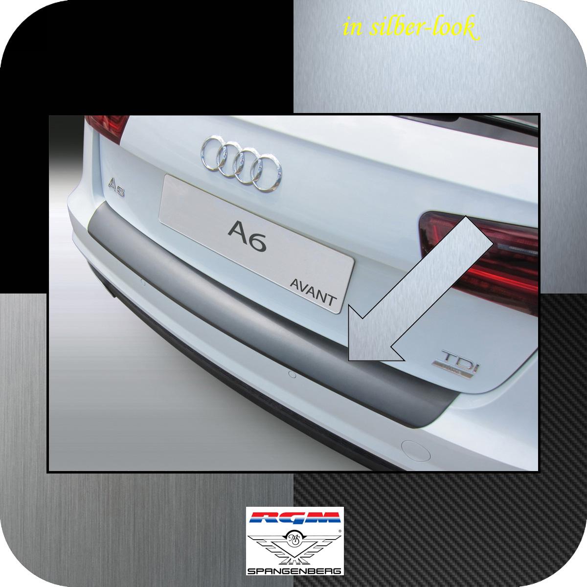 Ladekantenschutz Silber-Look Audi A6 C7 Avant auch S-Line 2016-18 not RS 3506679