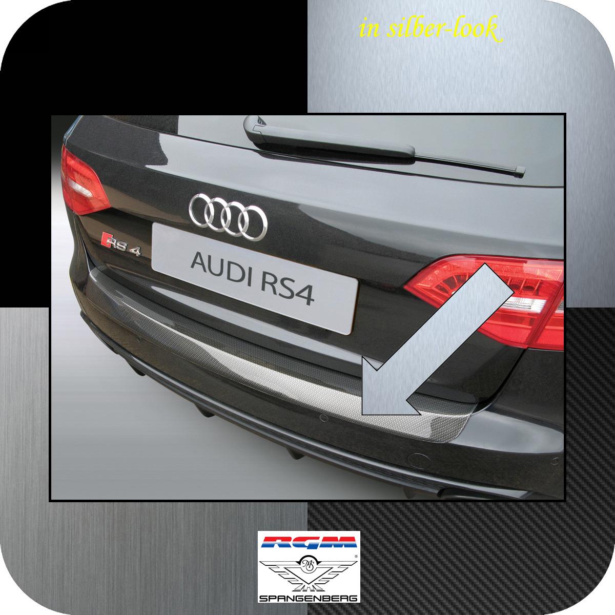 Ladekantenschutz Silber-Look Audi A4 Avant B8 nur RS4 Quattro 2012-16 3506699