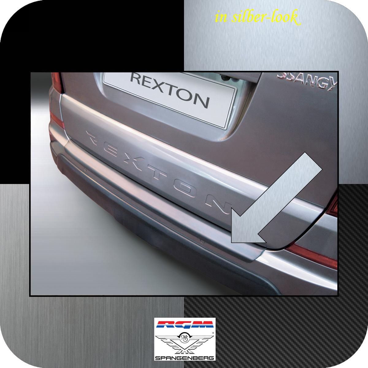 Ladekantenschutz Silber-Look SsangYong Rexton W ab Baujahr 2013- 3506703