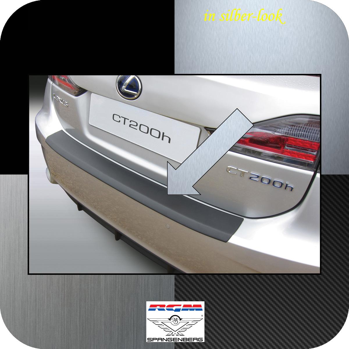 Ladekantenschutz Silber-Look Lexus CT 200h 5-Türer ab facelift 2014- 3506728