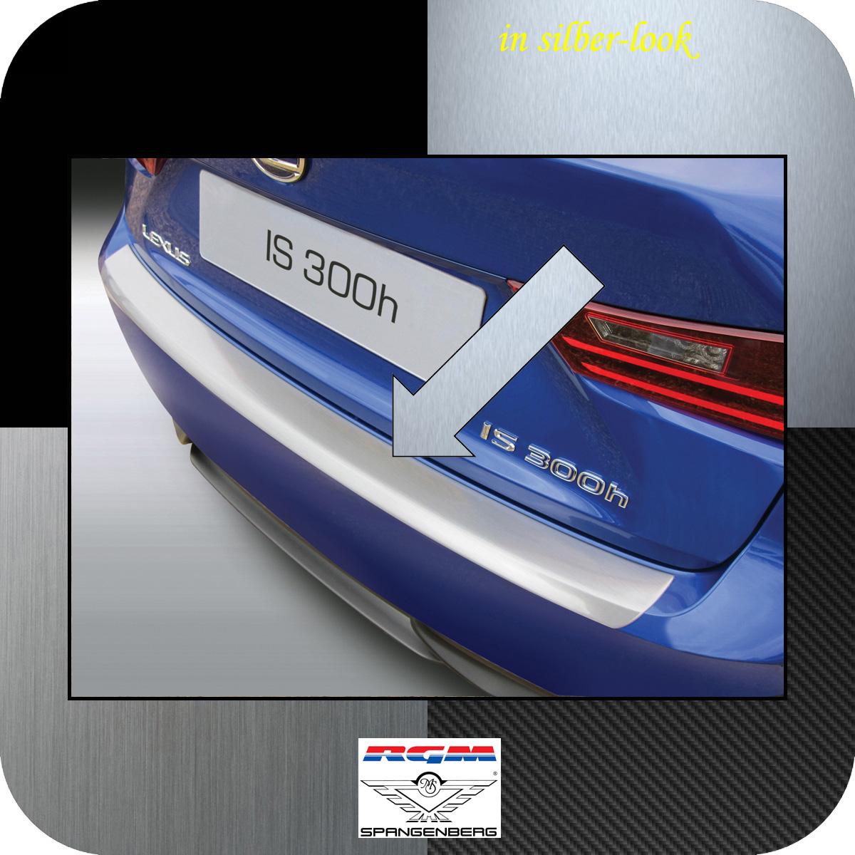 Ladekantenschutz Silber-Look Lexus IS III Limousine Baujahre 2013-2016 3506729