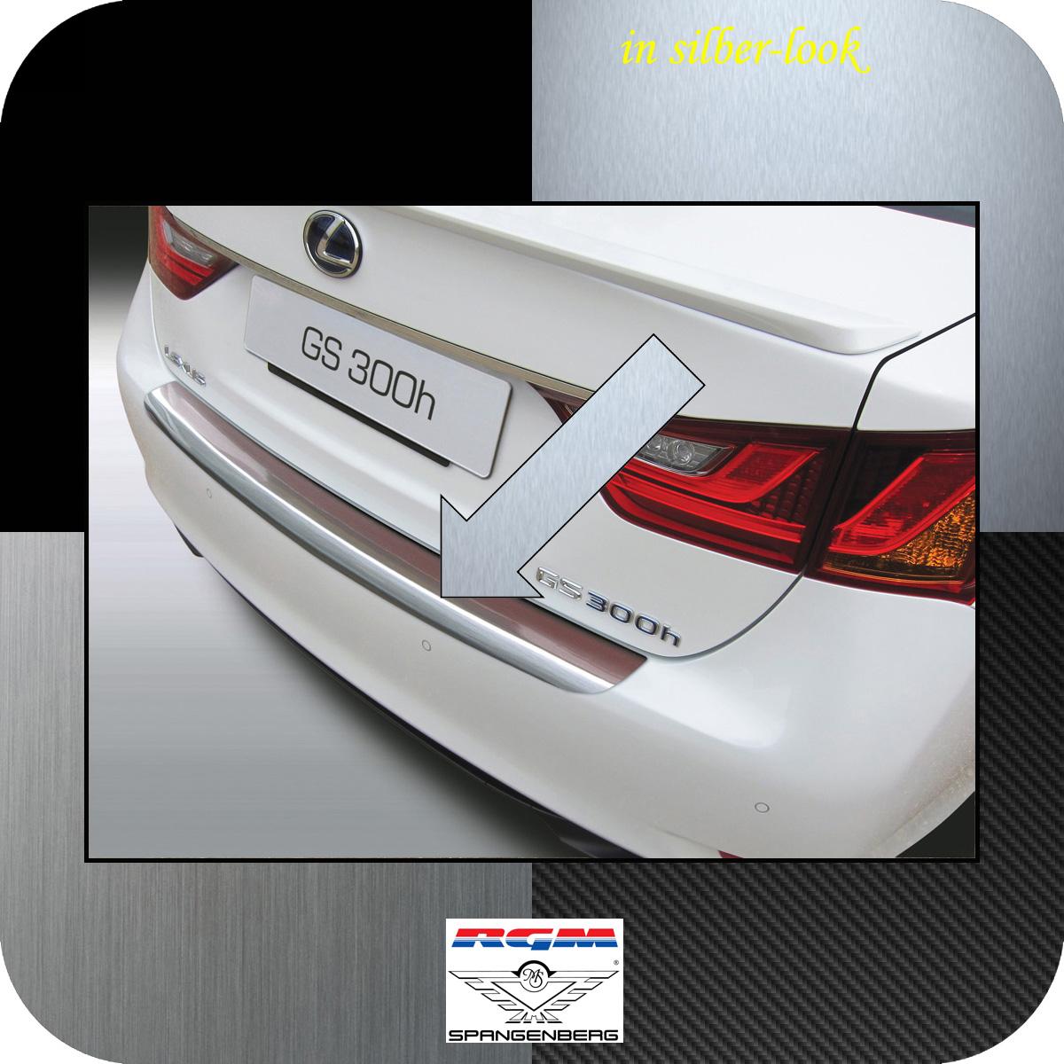 Ladekantenschutz Silber-Look Lexus GS IV Limousine ab Baujahr 2012- 3506730