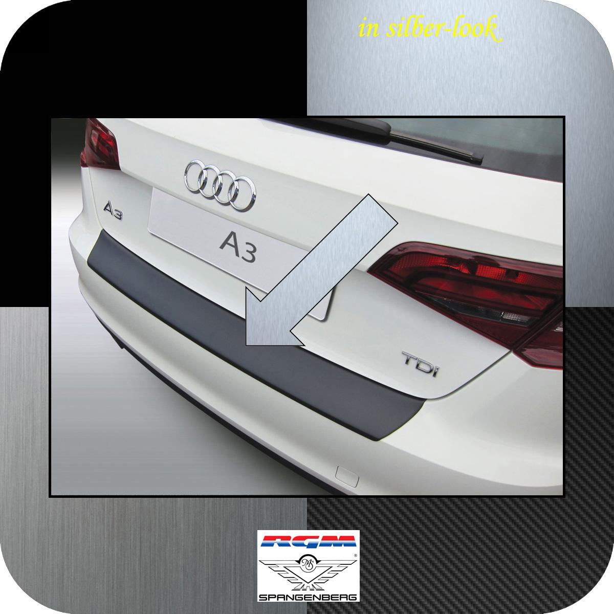 Ladekantenschutz Silber-Look Audi A3 Sportback auch S3 und RS3 ab 2012- 3506760