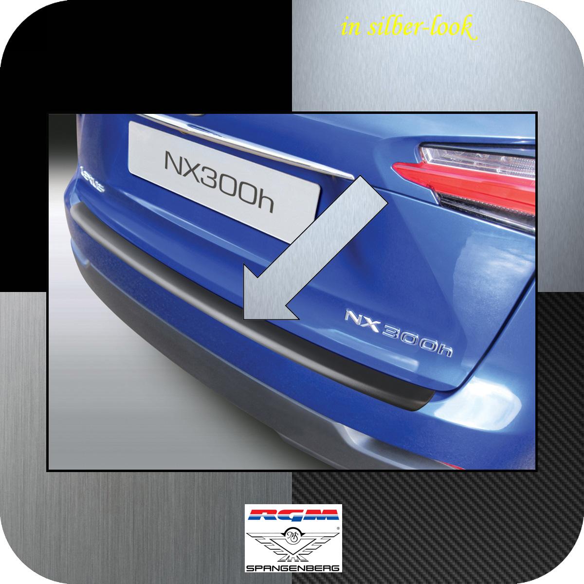 Ladekantenschutz Silber-Look Lexus NX SUV Kombi ab Baujahr 2014- 3506787