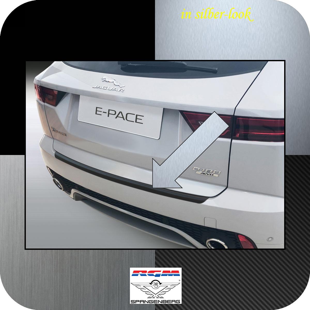 Ladekantenschutz Silber-Look Jaguar E-Pace X540 SUV ab Baujahr 09.2017- 35067940