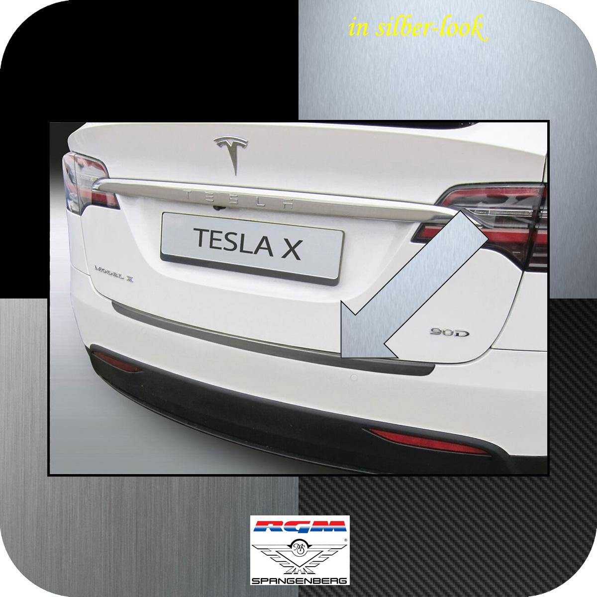 Ladekantenschutz Silber-Look Tesla Model X ab Baujahr 09.2015- 3506800