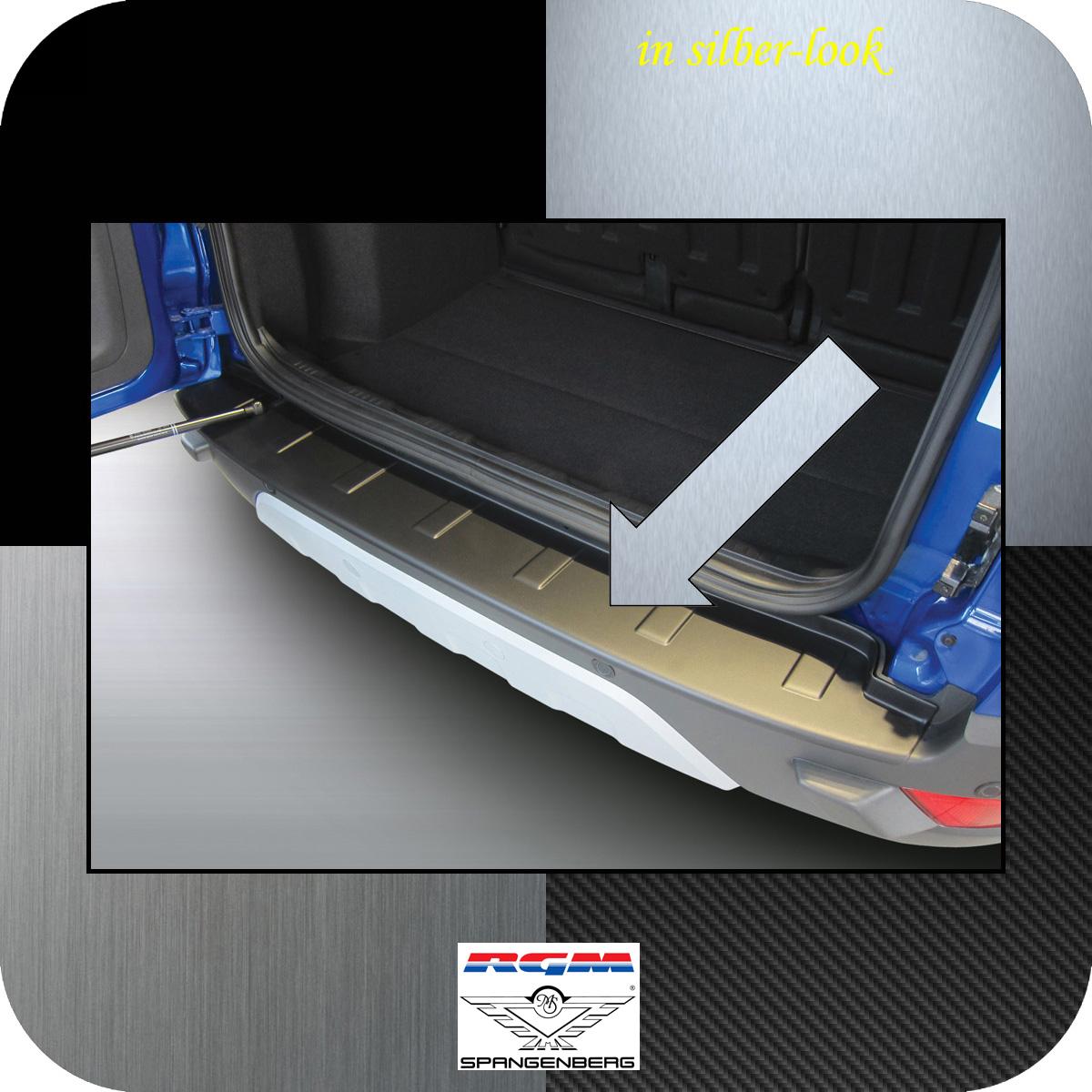 Ladekantenschutz Silber-Look Ford EcoSport SUV Kombi vor Mopf 2012-17 3506814