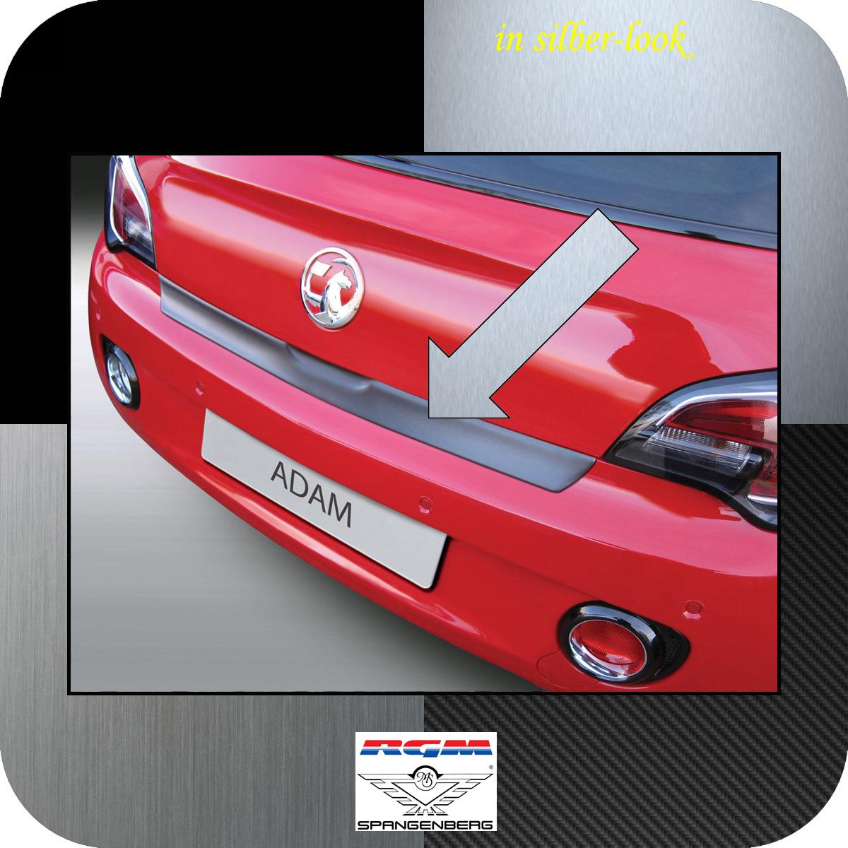 Ladekantenschutz Silber-Look Opel Adam Schrägheck 3-Türer ab Bj 2012- 3506884
