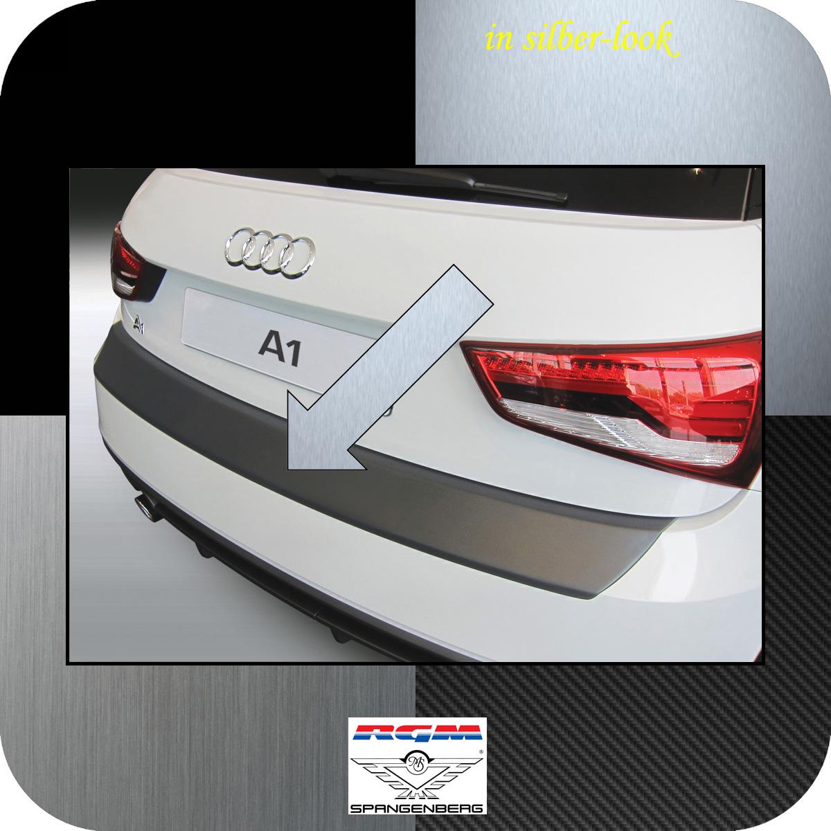 Ladekantenschutz Silber-Look Audi A1 auch Sportback facelift 2015-2018 3506887