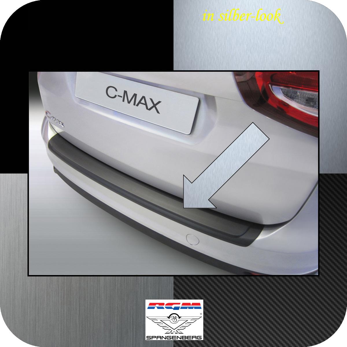Ladekantenschutz Silber-Look Ford C-MAX II ab facelift Baujahr 2015- 3506889