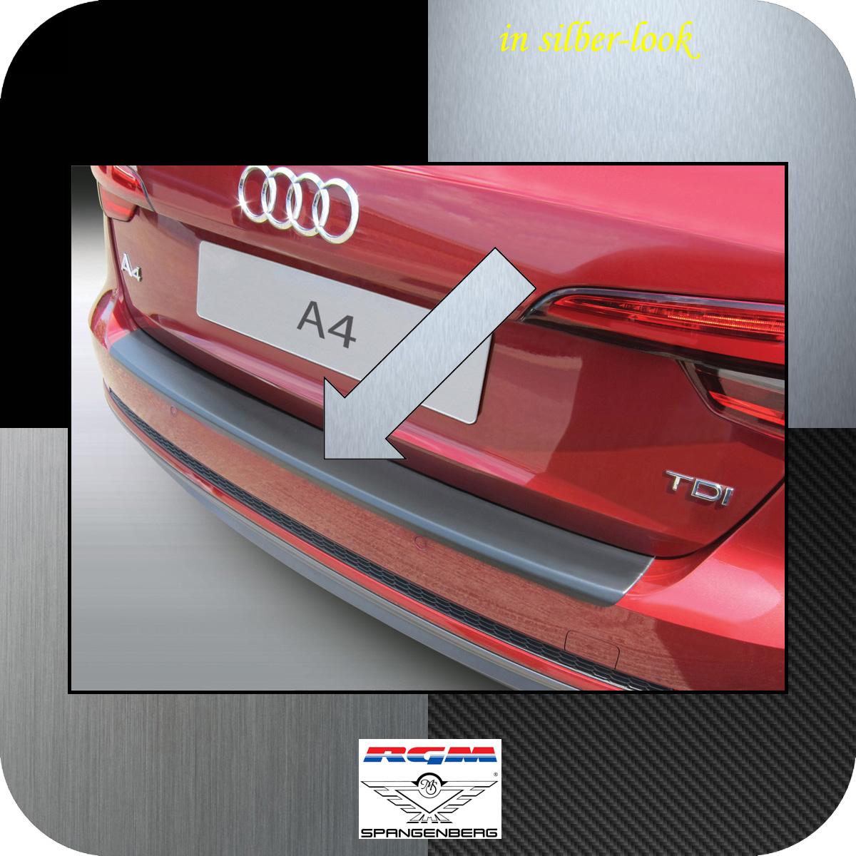Ladekantenschutz Silber-Look Audi A4 B9 Avant auch S-Line 5-Türer 2015- 3506894