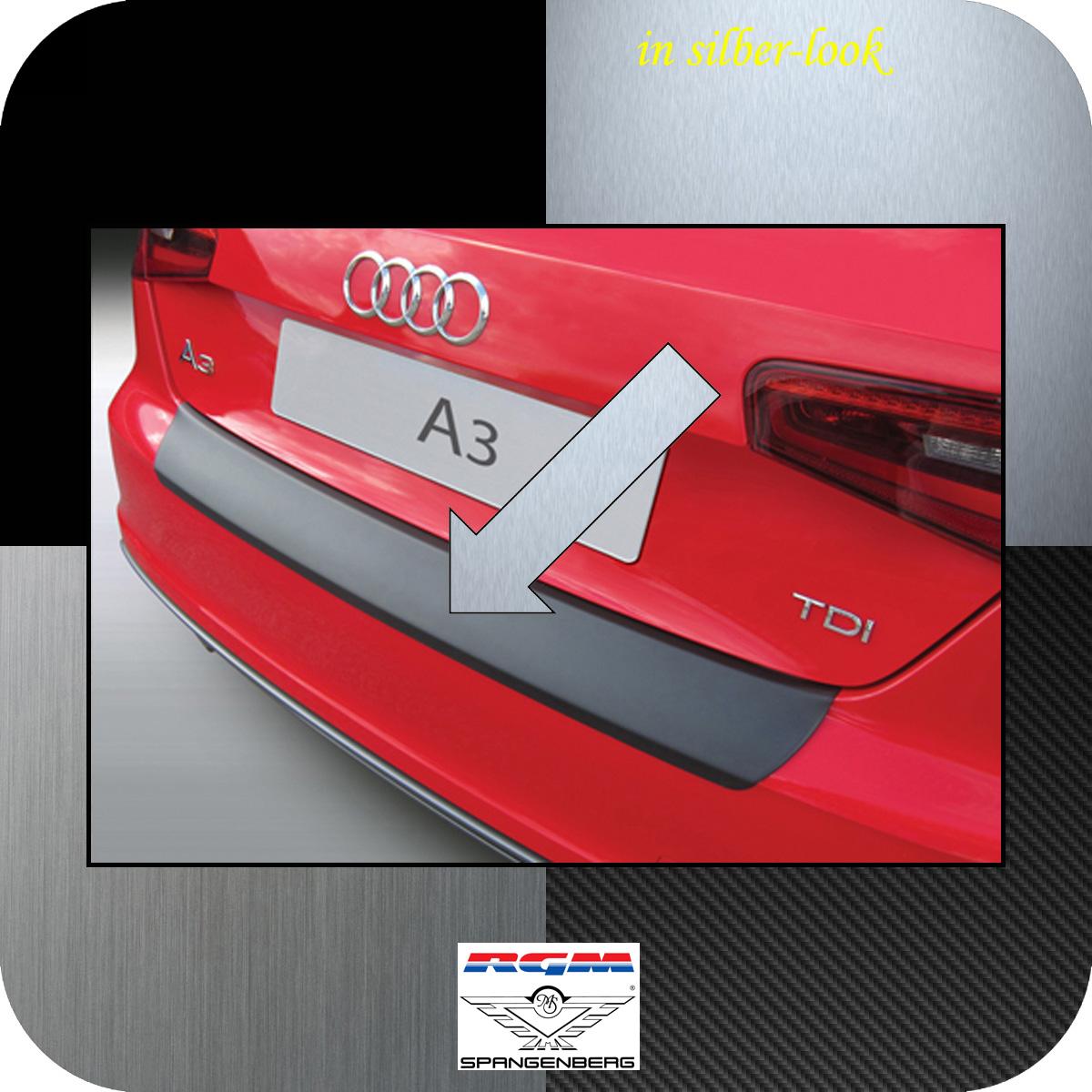Ladekantenschutz Silber-Look Audi A3 auch S3 Schrägheck 3-Türer 2012-17 3506899