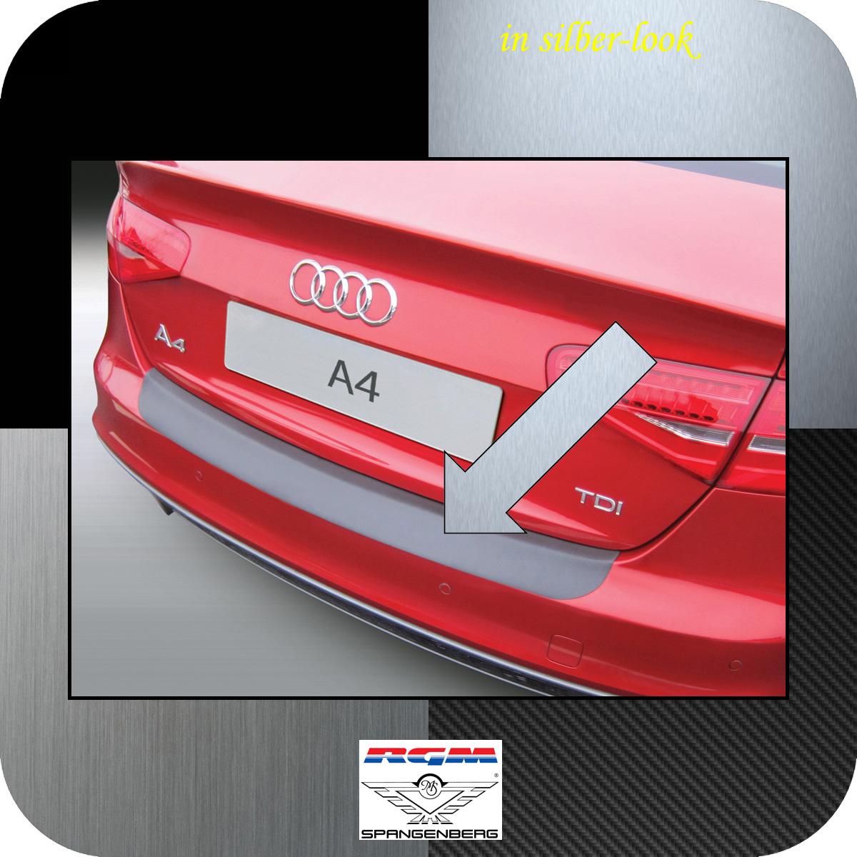 Ladekantenschutz Silber-Look Audi A4 B8 Limousine facelift 2012-2015 3506905
