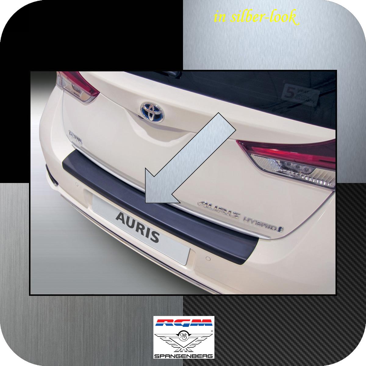 Ladekantenschutz Silber-Look Toyota Auris II Schrägheck ab Mopf 2015- 3506911
