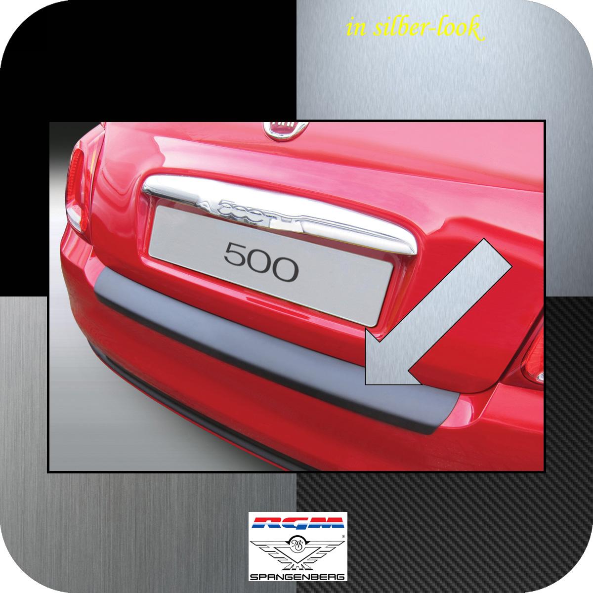 Ladekantenschutz Silber-Look Fiat 500 ab facelift Baujahr 2015- 3506914
