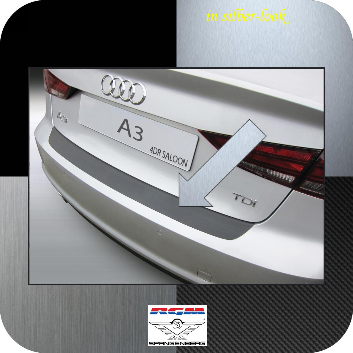 Ladekantenschutz Silber-Look Audi A3 8V Limousine 4-Türer ab Bj 2013- 3506926