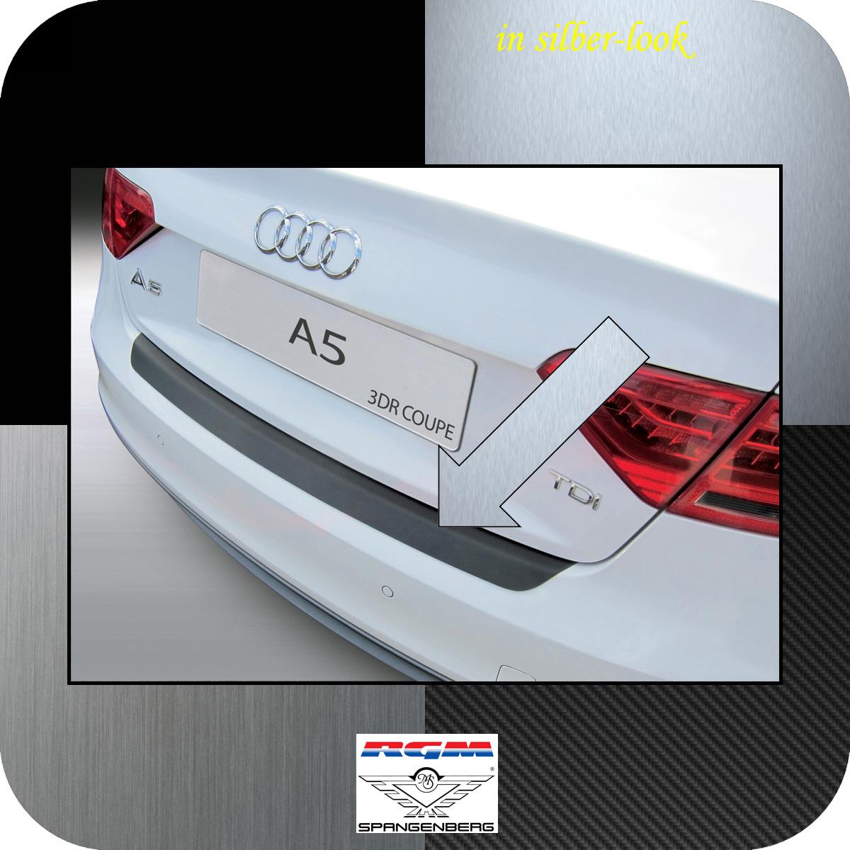 Ladekantenschutz Silber-Look Audi A5 Coupe 3-Türer Baujahre 2011-2016 3506927