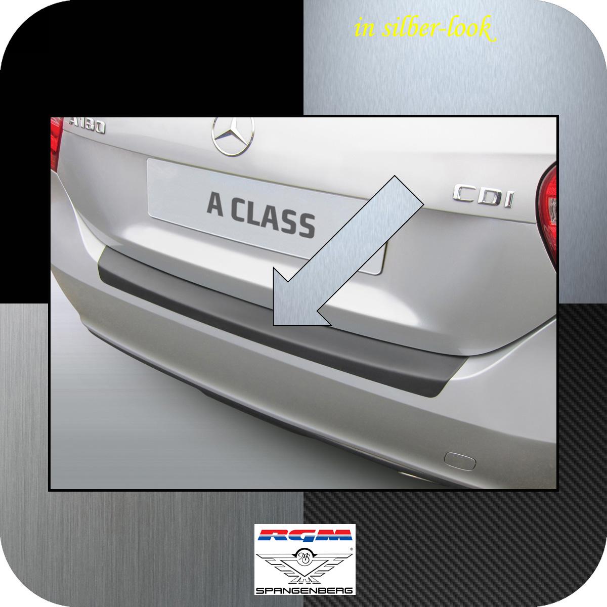 Ladekantenschutz Silber-Look Mercedes Benz A-Klasse W176 Schrägheck ´15- 3506933