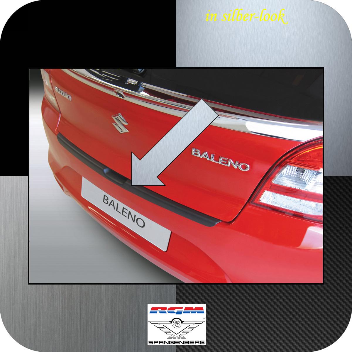 Ladekantenschutz Silber-Look Suzuki Baleno II Schrägheck ab  04.2016- 3506936