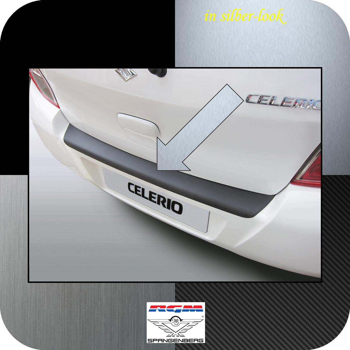 Ladekantenschutz Silber-Look Suzuki Celerio Schrägheck ab 03.2014- 3506937