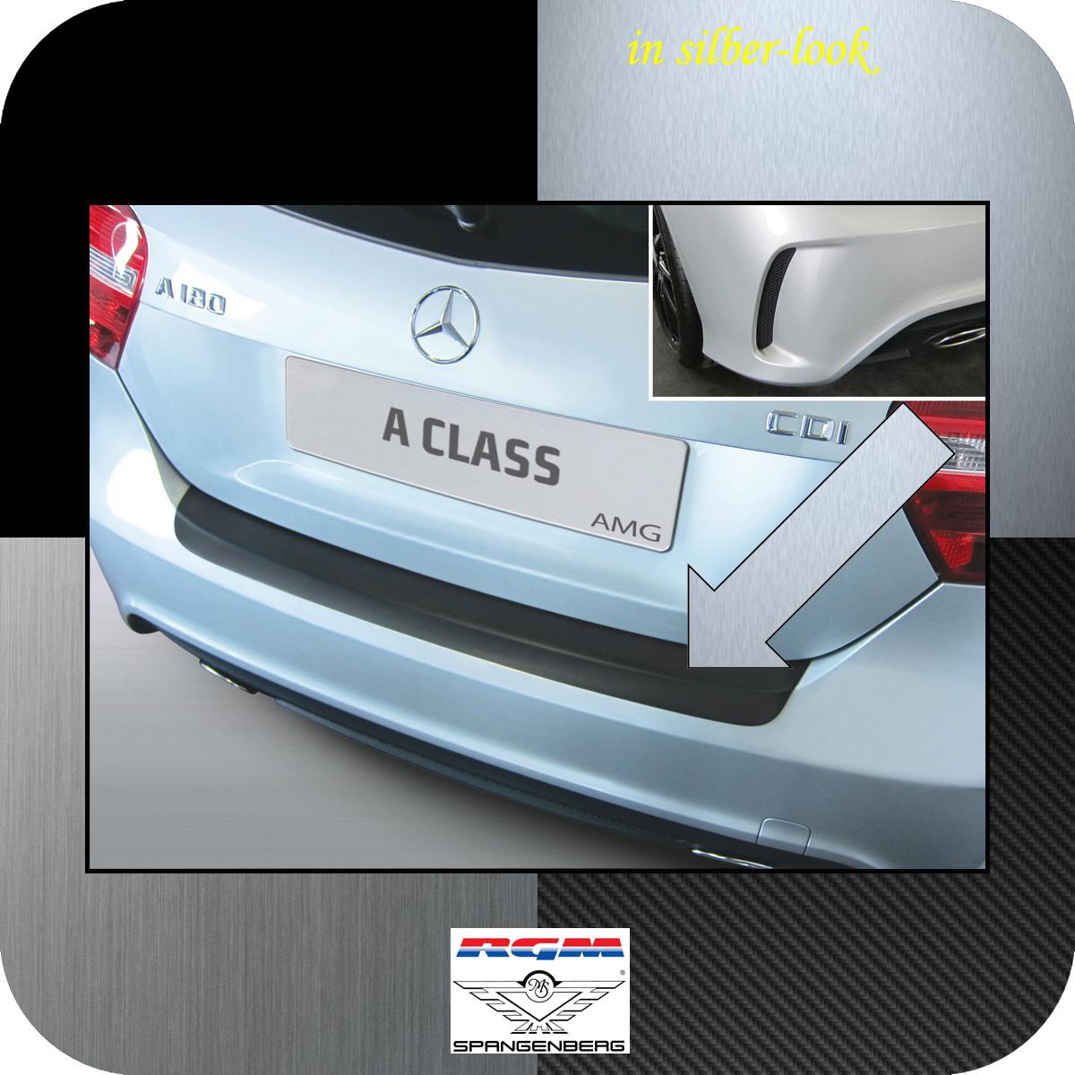 Ladekantenschutz Silber-look Mercedes A-Klasse W176 2012- 45 AMG und 250 3506951