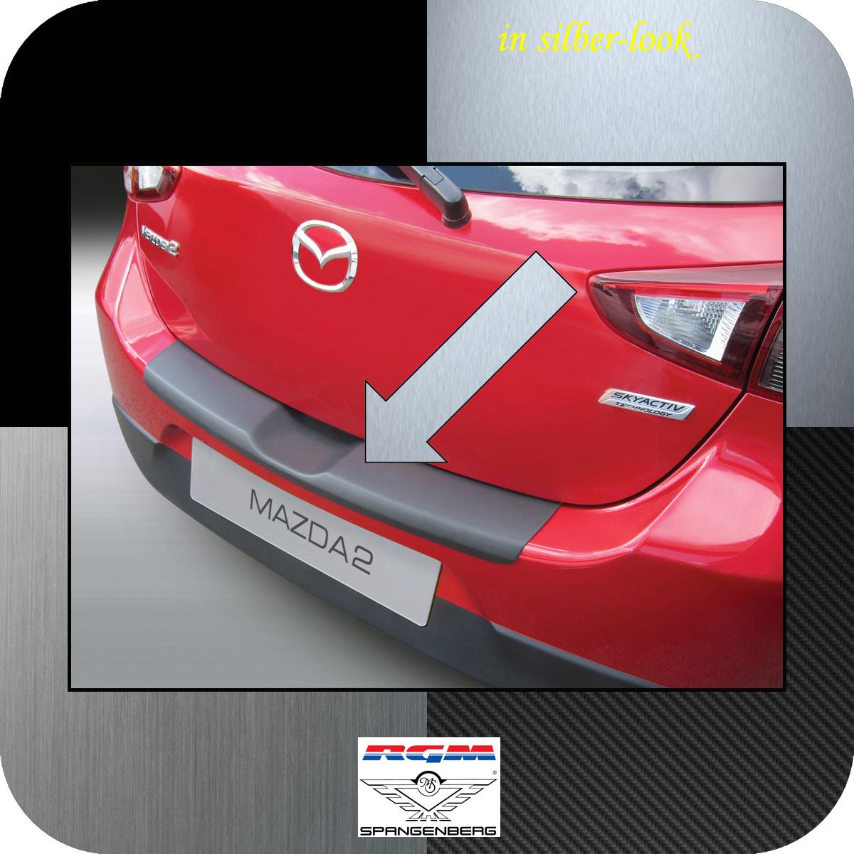 Ladekantenschutz Silber-Look Mazda 2 DJ Schrägheck 3- & 5-Türer 11.2014- 3506955