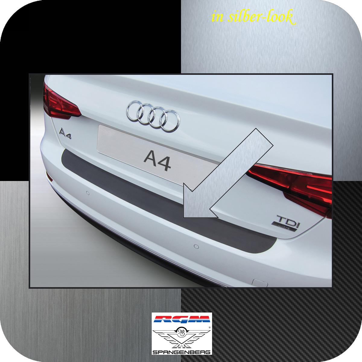 Ladekantenschutz Silber-Look Audi A4 B9 Limousine 4-Türer ab Bj 2015- 3506960
