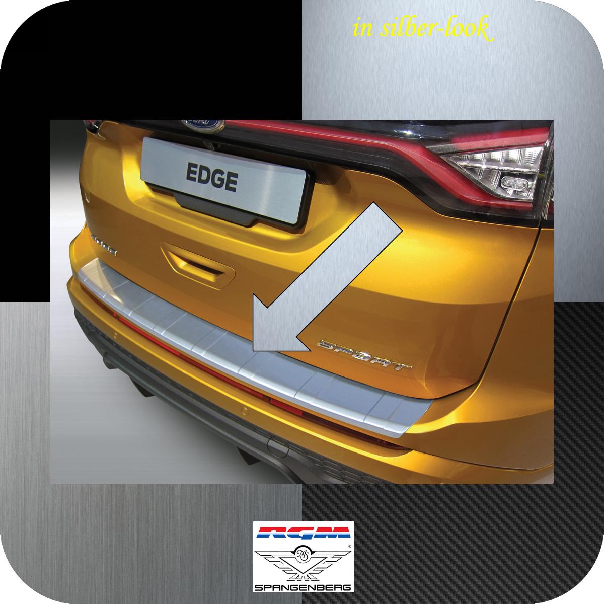 Ladekantenschutz Silber-Look gerippt Ford Edge II vor facelift 2016-18 3506965