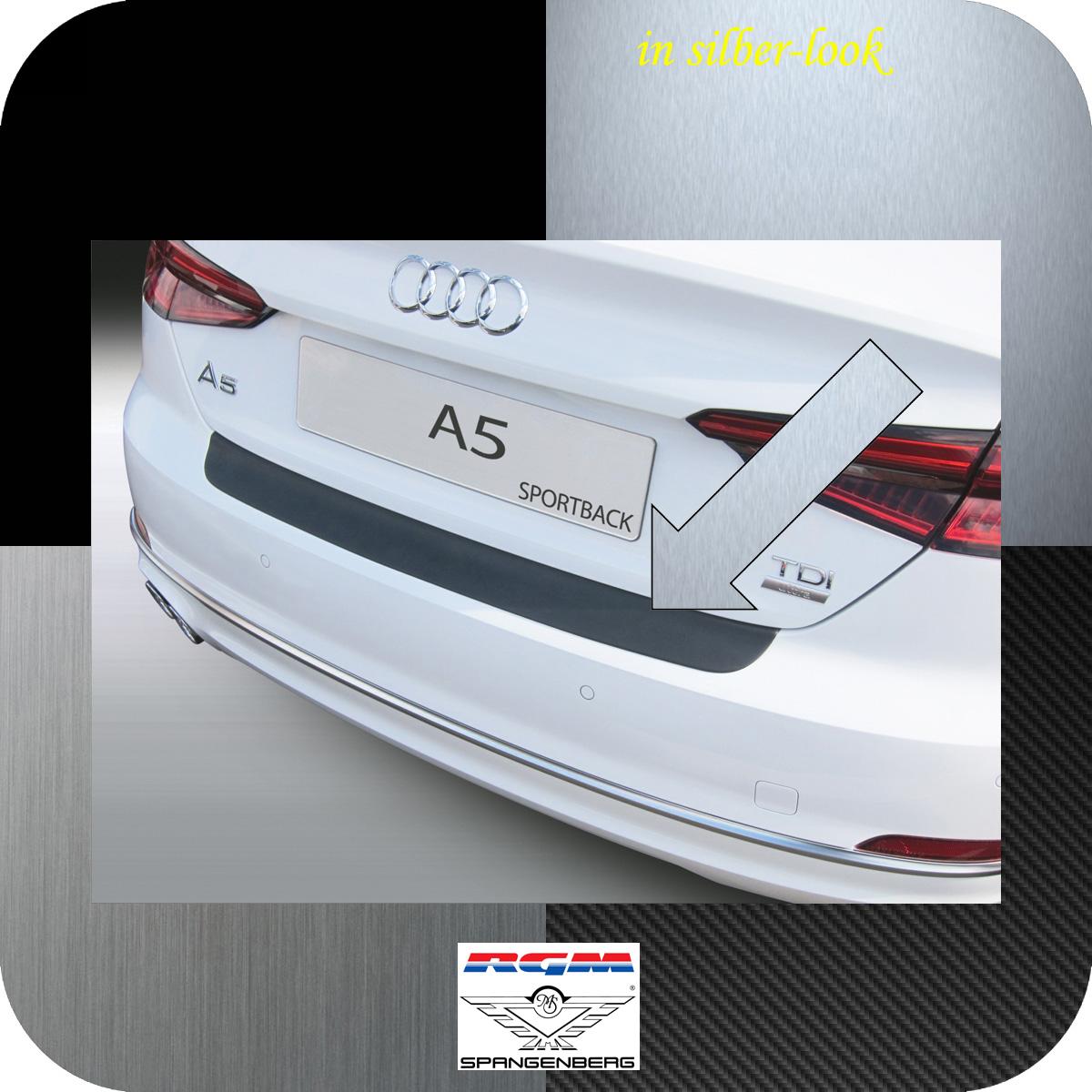 Ladekantenschutz Silber-Look Audi A5 Coupe 3-Türer ab Baujahr 2016- 3506970