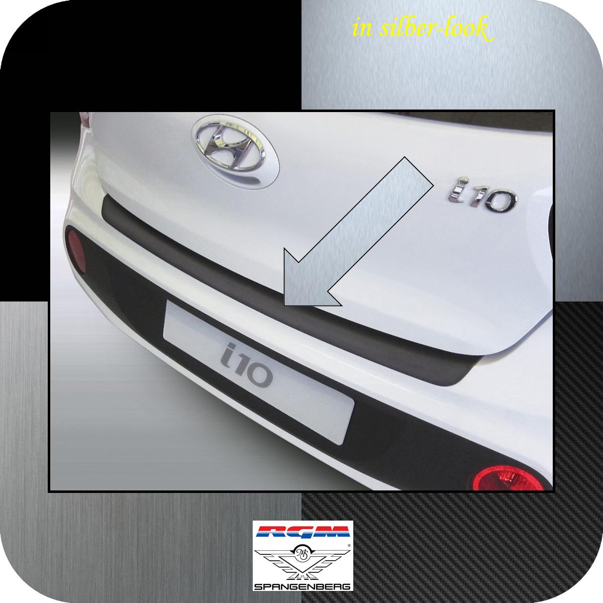 Ladekantenschutz Silber-Look Hyundai i10 Schrägheck ab Baujahr 2017- 3506972