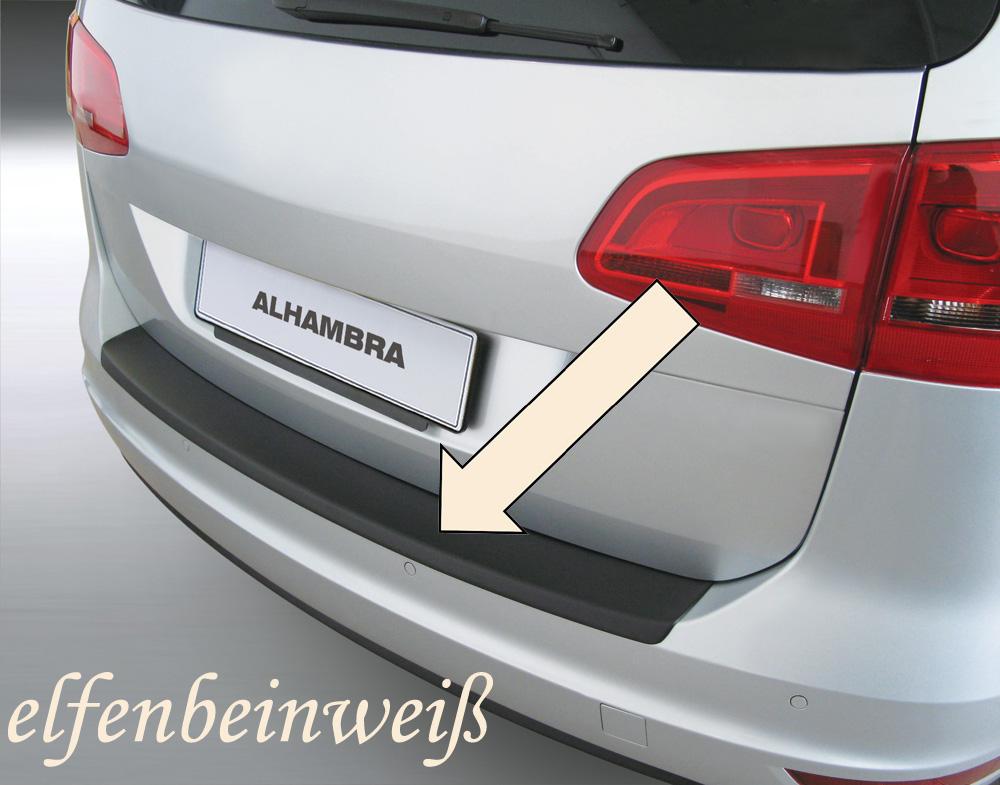 Taxi Ladekantenschutz elfenbeinweiß Seat Alhambra II Van Kombi ab 2010- 3503487