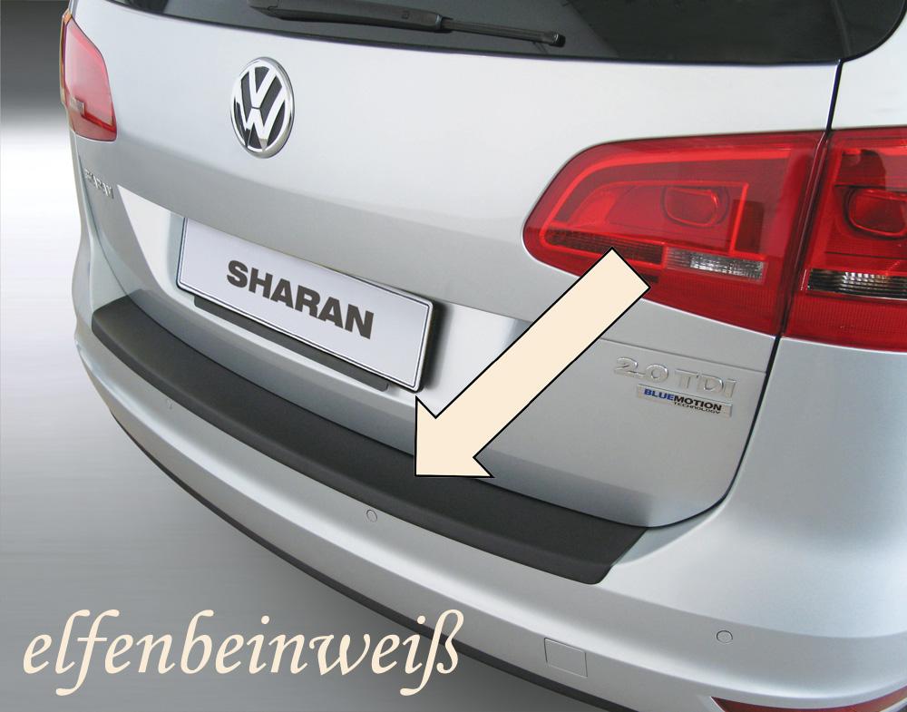 Taxi Ladekantenschutz elfenbeinweiß VW Sharan II Van Kombi ab 2010- 3503487