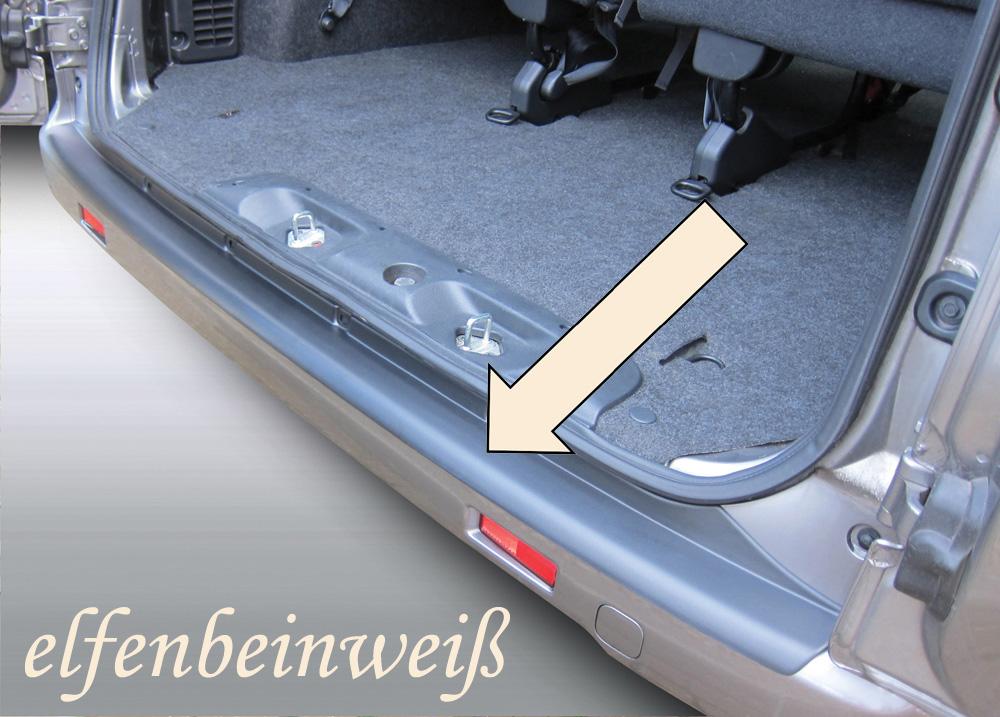 Taxi Ladekantenschutz elfenbeinweiß Nissan NV200 ab 2010- 3503708