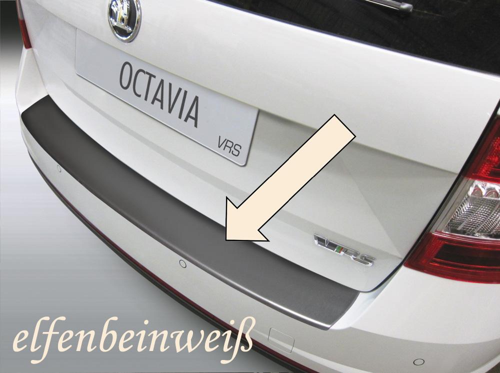 Taxi Ladekantenschutz elfenbeinweiß Skoda Octavia III RS Kombi 2012-17 3503721