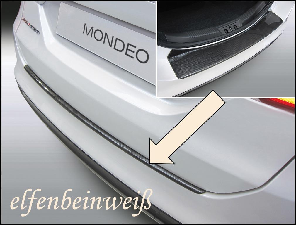 Taxi Ladekantenschutz elfenbeinweiß Ford Mondeo V Limousine ab 2013- 3503784