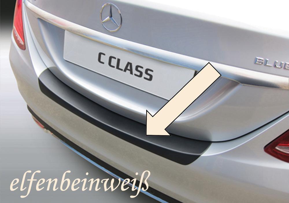 Taxi Ladekantenschutz elfenbeinweiß Mercedes C-Klasse W205 Limo 2014- 3503788