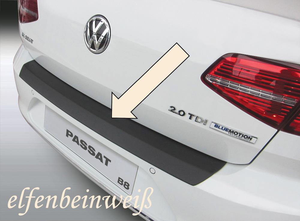 Taxi Ladekantenschutz elfenbeinweiß VW Passat B8 Limousine ab 2014- 3503819