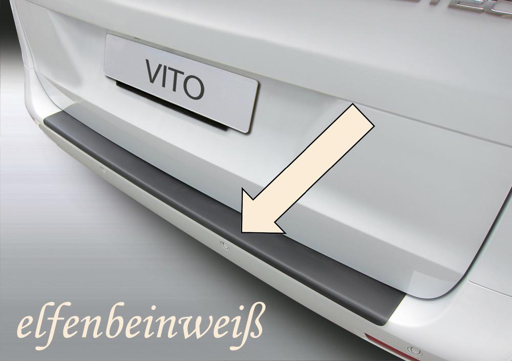 Taxi Ladekantenschutz elfenbeinweiß Mercedes V-Klasse Viano Vito 2014- 3503844