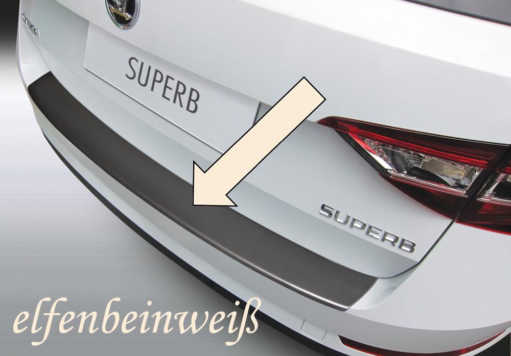 Taxi Ladekantenschutz elfenbeinweiß Skoda Superb III Kombi ab 2015- 3503865